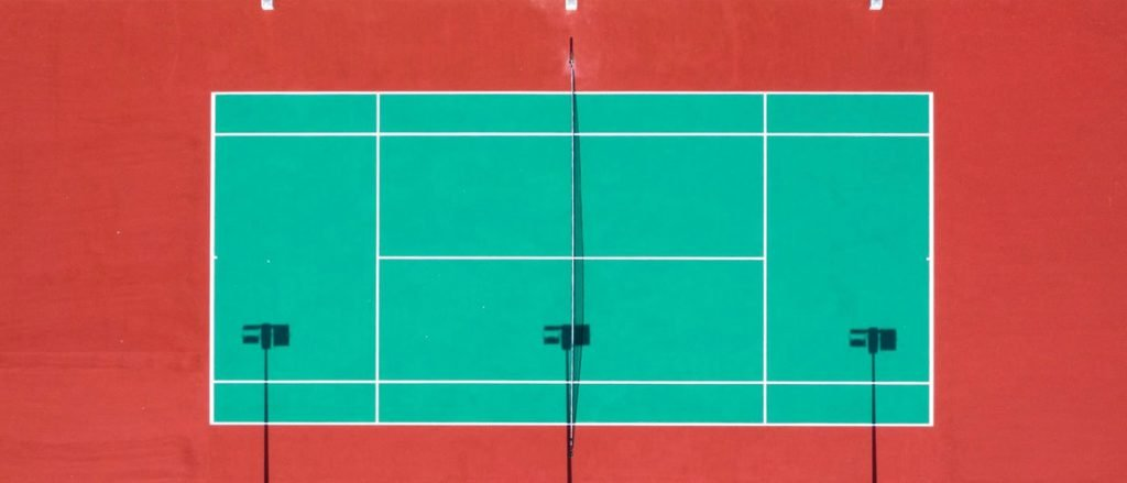 how big is a tennis court